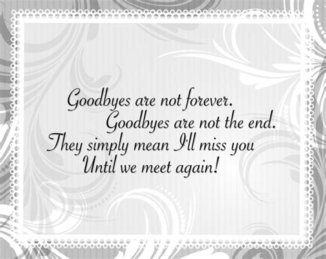 Letter Closing Until We Meet Again Quotes Farewell Quotes