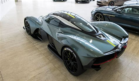 leaked footage of the aston martin valkyrie revealed