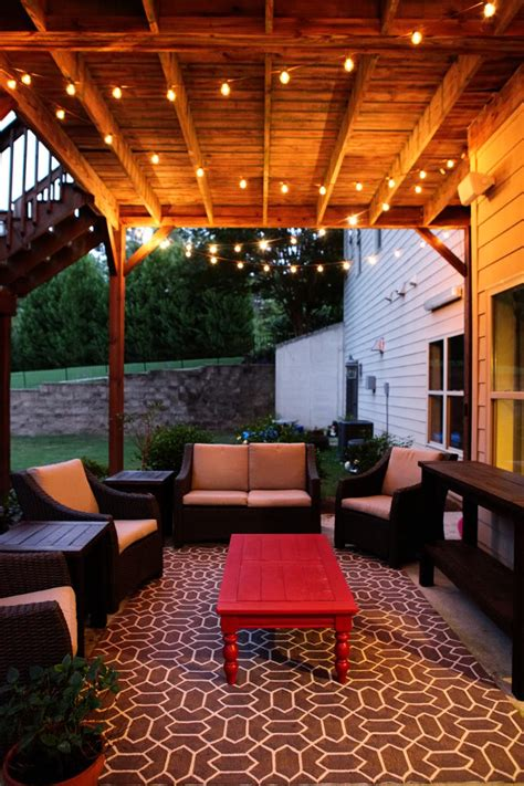 Putting It Together An Outdoor Room by Idea For Deck Outdoor Patio At New House 2 Outdoor