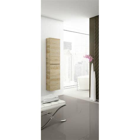 colonne de salle de bain suspendue delta 2 portes robinet