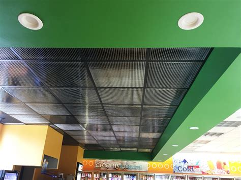 plastic eggcrate ceiling tiles with openings 1 2 x 1 2