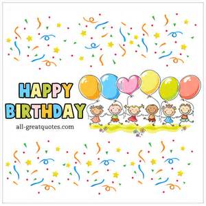 Animated Child Birthday Card Happy Birthday Facebook Animated Birthday Card