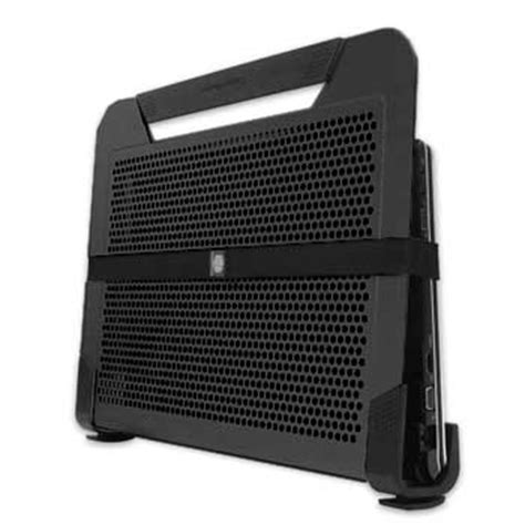 Cooler Master Notepal U2 Plus Movable Fan Aluminium Cooling Pa cooler master notepal u2 plus laptop cooling pad with 2