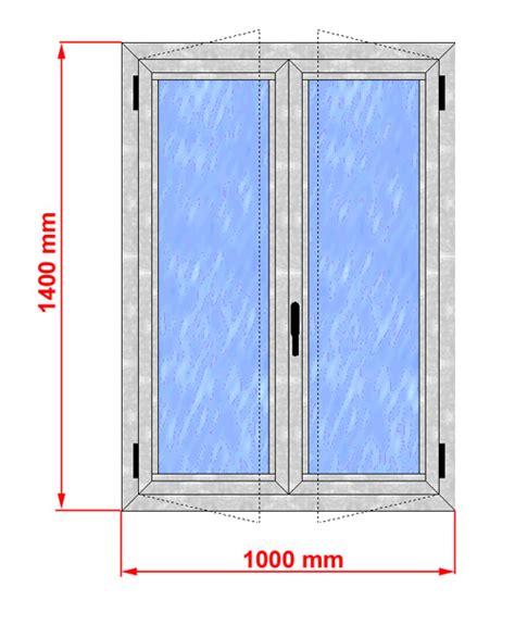larghezza porta finestra finestra alluminio taglio termico alto isolamento