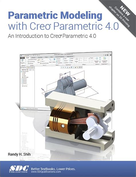 creao parametric 4 0 for designers books parametric modeling with creo parametric 4 0 an