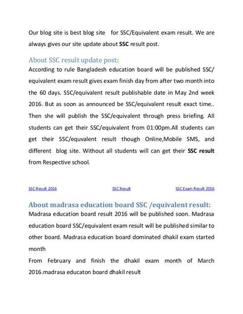 Bangladesh Porisonkhan Buro Result 2016 by Ssc Result 2016 Bangladesh