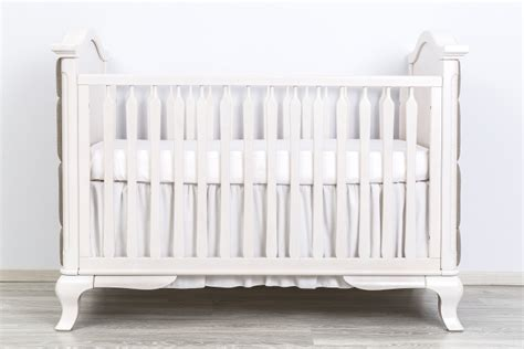 Romina Cleopatra Crib by Romina Cleopatra Classic Crib With Beige Linen Tufting