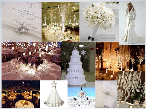 wedding themes and pictures winter theme wedding 001 the smart bride