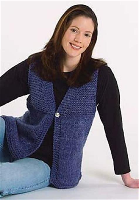 free vest knitting patterns easy 1000 ideas about knit vest pattern on vest