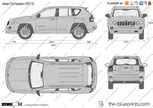 Jeep Compass Size The Blueprints Vector Drawing Jeep Compass