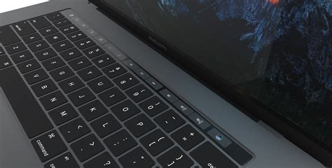 Macbook Space Grey element 3d 2016 apple macbook pro by mr matt 3docean