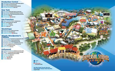 universal orlando map universal studios orlando map my