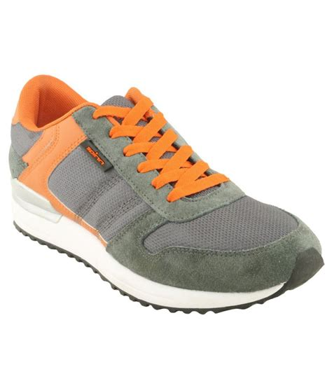 spinn comfortable orange sport shoes price in india buy
