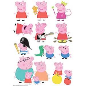 peppa pig character sheet