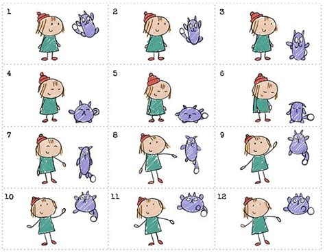 printable animal flip book 34 best animation career day images on pinterest