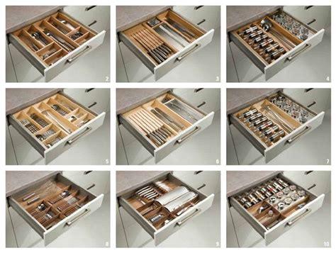 cocinas interiores  organizar los cajones madrid accesorios  muebles de cocina