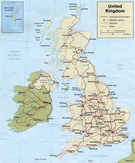 map uk ireland map of ireland and scotland