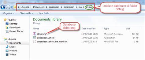 membuat koneksi vb net dengan database ms access tips membuat koneksi vb net dengan database ms access tips