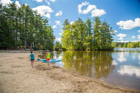 nh rv parks and cgrounds north woods white mountains cing at pawtuckaway state park nh