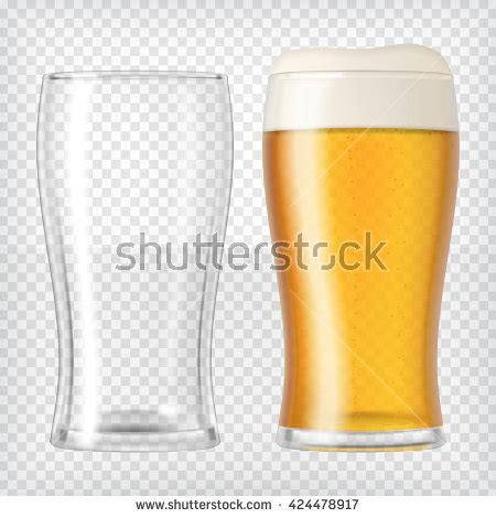 Mug Single Empty two glasses one empty mug stock vector 424478917