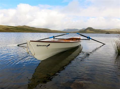clc boats varnish launch of oystercatcher expedition wherry boat