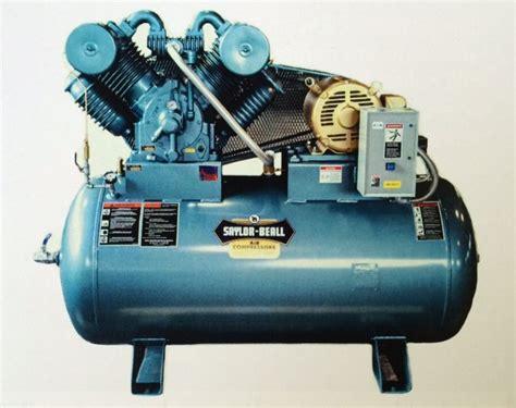 saylor beall model no pl 92020 hp buckeye air compressor