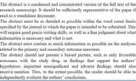 how to write an abstract for paper presentation how to write a abstract for a scientific paper or