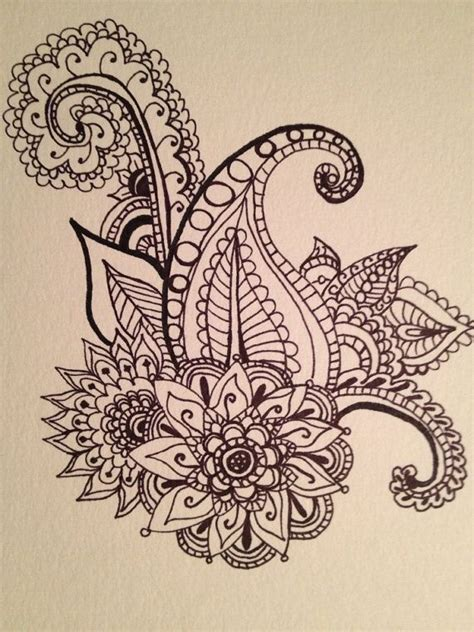 paisley pattern tattoo designs paisley feather tattoo design www imgkid com the image