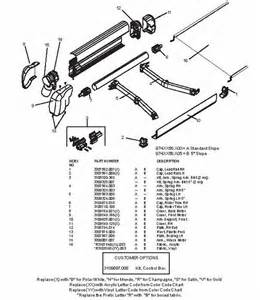A E Awning Replacement Laurelhurst Distributors Parts Breakdown Awnings