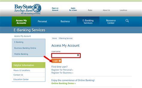 Bay State Savings Bank Banking Login Cc Bank
