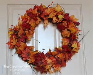 fall wreaths the creative cubby pinspiration friday fall wreaths