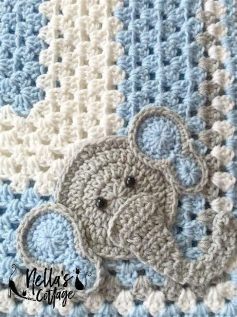 crochet pattern elephant baby blanket 760 best crochet baby blankets images on pinterest knit