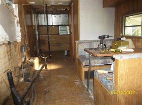 how to remodel rvs motorhomes yourself see how i travel trailer remodel 1985 fleetwood resort