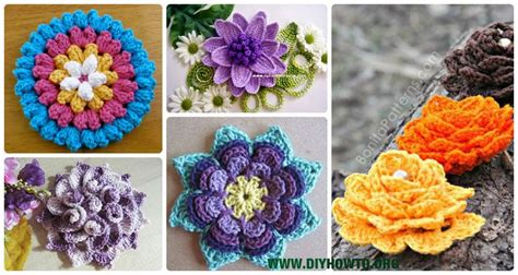 crochet lotus flower pattern 137 best images about crochet only free flowers on