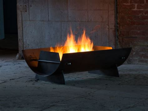 propane tank chiminea scowle firepit by dyehouse steel available in 2