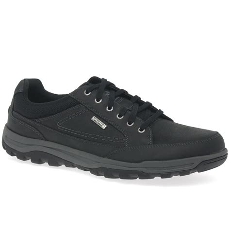 rockport tt wp mens casual lace up oxford shoes from
