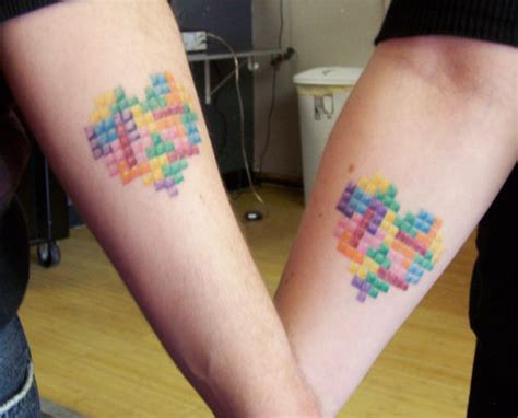 cute matching couple tattoos afrenchieforyourthoughts couples tattoos ideas 12