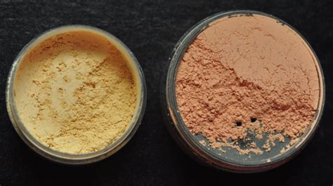 Correcting Powder breaking color correcting powders