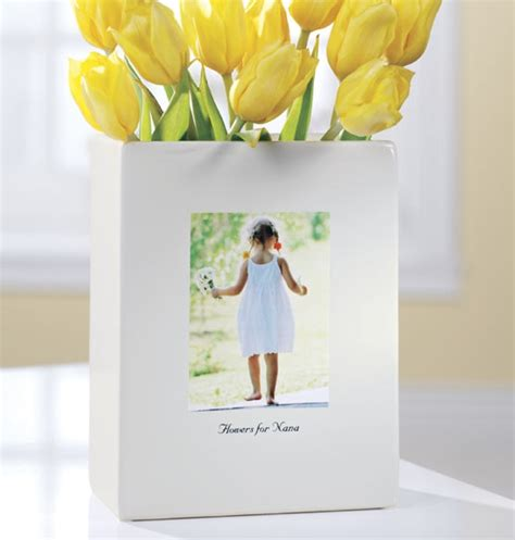 Personalized Photo Vase by 50 Gift Ideas For The In Your For