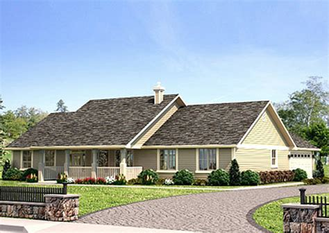 Ranch Style House Plan   3 Beds 2 Baths 1924 Sq/Ft Plan #427 6