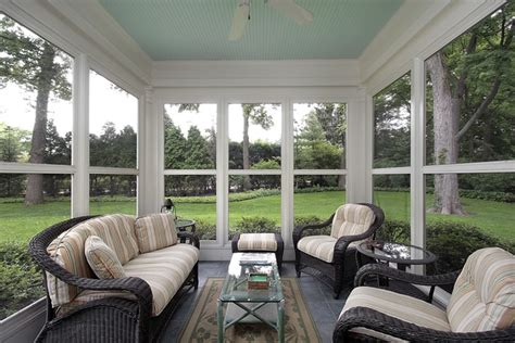 Backyard Sunroom by A Gallery Of Our Decks Patios And Porches Porch