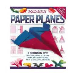 Fold And Fly Paper Planes Book - fold fly paper planes binder 32752 new zealand