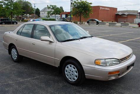 1996 toyota camry sedan 1996 toyota camry le 4d sedan 4 cyl leather sunrrof