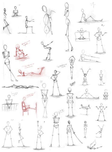 Pose Practice Drawing