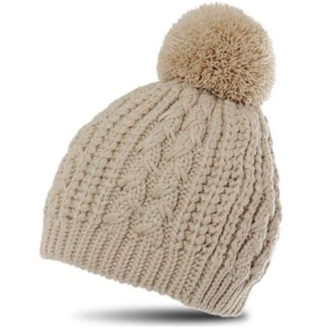 pom pom knit hat pattern caspar womens classic winter knitted hat