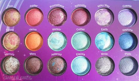 Bh Cosmetics Galaxy Chic bh cosmetics galaxy chic eyeshadow palette review