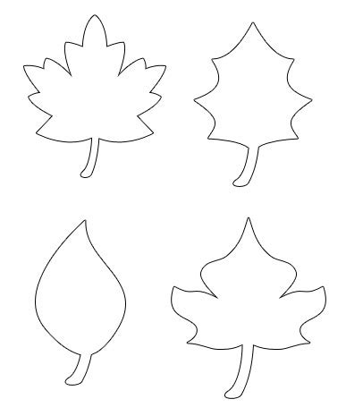 Simple Leaf Template by Simple Leaf Pattern