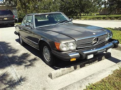Upholstery Cape Coral Fl 1983 Mercedes Benz 380 Class 380sl 2dr Convertible In Cape