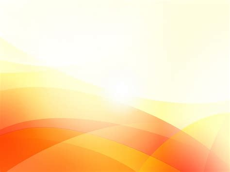 Orange Waves Backgrounds Abstract Orange White Templates Free Ppt Backgrounds And Orange Powerpoint Templates