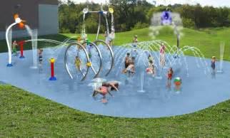 Splash Pads Swimming Pool Design